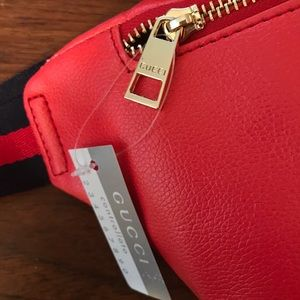c35fb265549a Bags | Gucci Large Fanny Pack Bag Purse Red Tomorrow | Poshmark